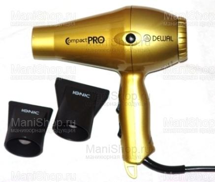 Фен DEWAL Compact Pro (артикул 03-6008 gold)