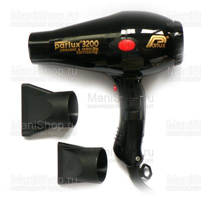 Фен PARLUX 3200 COMPACT (артикул 0901-3200 ion black)