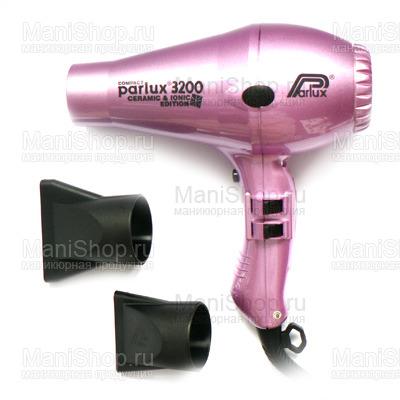 Фен PARLUX 3200 COMPACT (артикул 0901-3200 ion pink)