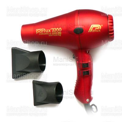 Фен PARLUX 3200 COMPACT (артикул 0901-3200 ion red)
