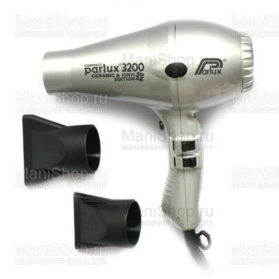 Фен PARLUX 3200 COMPACT (артикул 0901-3200 ion silver)